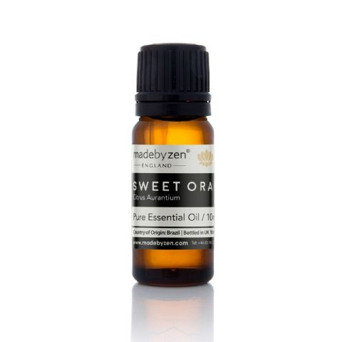 SWEET ORANGE - Classic Scented Pure Essential Oil Made By Zen 10ml